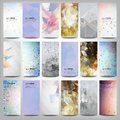Big Colored Abstract Banners Set. Conceptual Royalty Free Stock Photos - 46882268