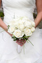 Bride Holding A Bouquet Stock Image - 46907541