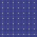 Blue Electric Solar Panel Seamless Pattern. Vector Royalty Free Stock Photography - 46907917