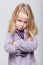 Angry Girl Royalty Free Stock Photography - 46925927