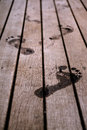 Footprints Royalty Free Stock Images - 46928569