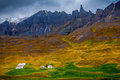 A Small Village Close To Seydisfjordur Stock Images - 46930414