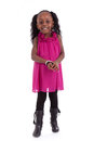 Cute Little African American Girl Smiling - Black People - Child Stock Photography - 46936282