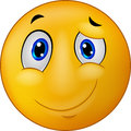 Cartoon Happy Emoticon Smile Stock Photography - 46947822