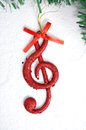Music Note, Christmas  Scene, Decoration Stock Images - 46948614