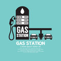 Gas Station Service Black Royalty Free Stock Photo - 46978865