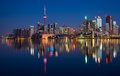 Toronto City Skyline Reflection Royalty Free Stock Photos - 46983148