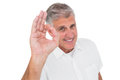 Casual Man Showing Ok Sign To Camera Stock Photo - 46984820