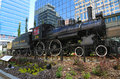 Canadian Pacific Railway Locomotive 29 In Calgary Royalty Free Stock Photography - 46986927