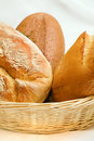 Bread In A Basket Royalty Free Stock Photo - 4708395