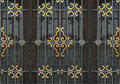 Ornate Iron Window Detail Royalty Free Stock Images - 47011209