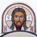 Mosaic Image Of Jesus Christ Royalty Free Stock Photography - 47020257