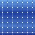 Blue Electric Solar Panel Pattern. Vector Royalty Free Stock Photography - 47023047
