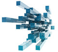 Glass Rectangles Royalty Free Stock Image - 47023226