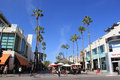 The Third Street Promenade Of Santa Monica Royalty Free Stock Photos - 47028118
