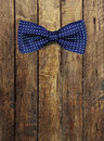 Bow Tie On Wooden Textur Royalty Free Stock Images - 47056039