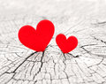 Two Hearts Royalty Free Stock Photography - 47057077