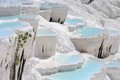 Travertine Pools And Terraces In Pamukkale, Turkey Royalty Free Stock Photo - 47059775