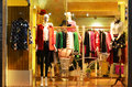 Fashion Boutique Display Window With Mannequins, Store Sale Window, Front Of Shop Window Stock Images - 47068284