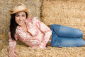 Beautiful Cowgirl Royalty Free Stock Images - 4717209