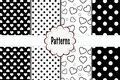 Patterns Hearts And Dots Plaid Royalty Free Stock Images - 47106359