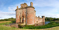 Caerlaverock Castle Scene Stock Photography - 47111142