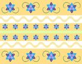 Seamless Floral Pattern In Retro Style Royalty Free Stock Images - 47157269