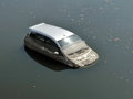 Flooded Car Royalty Free Stock Photos - 47177038