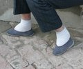 Chinese Bound Feet Royalty Free Stock Photography - 47187097