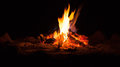 Camp Fire Royalty Free Stock Image - 47190616