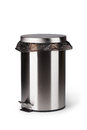 Steel Trash Can Stock Photo - 47194190