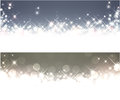 Winter Starry Christmas Banners. Royalty Free Stock Photography - 47199807