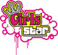 Girl Star Vector Royalty Free Stock Photography - 4726947
