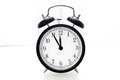 Alarm Clock 5 To 12 Royalty Free Stock Images - 47234389