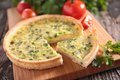 Leek Quiche Royalty Free Stock Photo - 47254565