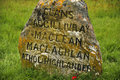 Culloden Battle Field Memorial Monument Stock Photos - 47254903