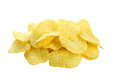 Potato Chips Isolated On White Background Stock Photo - 47276480