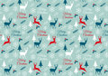 Seamless Christmas Pattern, Vector Stock Images - 47289914