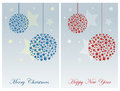 Christmas Cards Royalty Free Stock Photo - 47291685