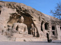 Buddha Joss In Yungang Grottoes Royalty Free Stock Images - 4736479