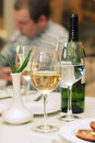 Still Life Wine Bottle And Glass Royalty Free Stock Photography - 4736727