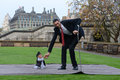 London: World S Tallest Man And Shortest Man Meet On Guinness World Record Stock Image - 47302931