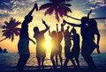 People Teenagers Summer Enjoying Beach Party Concept Stock Images - 47305354