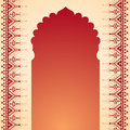 Henna Temple Gate Design Stock Photo - 47322180