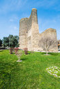 Ancient Maiden Tower Stock Photo - 47330850