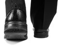 Male Suit Walking Away In Black Shoes Stock Image - 47336231