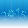 New Year 2015 Greeting Card. Vector EPS 10 Stock Image - 47353201