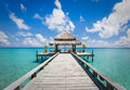 Spa Room At The End Of The Pier Stock Photography - 47358772