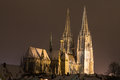Regensburg In Winter Royalty Free Stock Image - 47368666