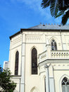 Church Under Tropical Blue Sky Royalty Free Stock Image - 4745596
